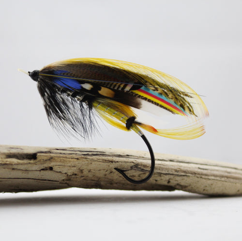 Jock Scott 6/0 Salmon Fly, By Davie McPhail