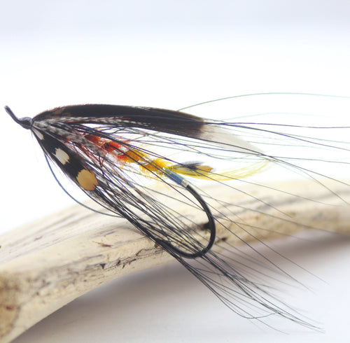 6/0 The Dunt Dee Salmon Fly, By Davie McPhail