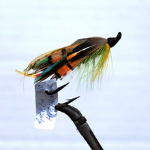 "Load image into Gallery viewer, ""Green Highlander"" Double Hook, Salmon-fly 5/0"