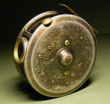 "Load image into Gallery viewer, 1921 Hardy 3 Screw Latch 3.3/4"" St George Fly Reel"