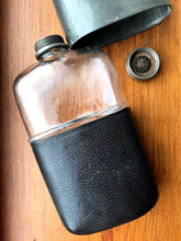 Load image into Gallery viewer, Antique Pewter Hip Flask