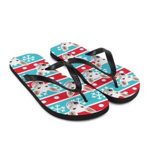 Custom Wrapping Paper Face Flip Flops