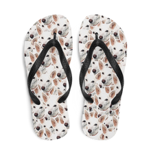 Load image into Gallery viewer, Custom 100 Face Pattern Flip Flops