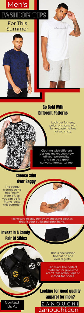 Men's Fashion Tips For This Summer