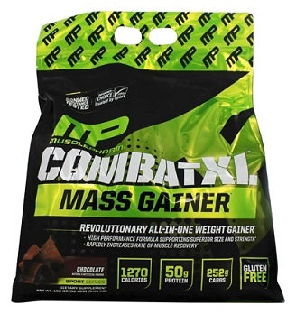 Combat XL Mass Gainer - 5.44 KG מאסל פארם כשר - שוקולד