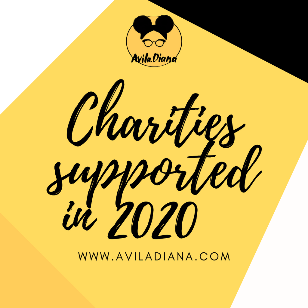 Charities Supported In 2020