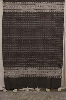 Moroccan Blanket (#LW2-7) - Large Cotton & Wool