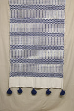 Load image into Gallery viewer, Moroccan Blanket (#SC2-67) - Small Cotton