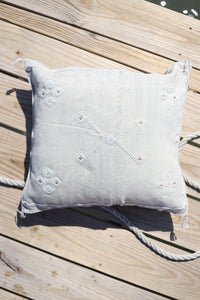 Cactus Silk Pillow Cover - 20 x 20 - Oyster - #10168