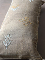 Load image into Gallery viewer, Cactus Silk Pillow Cover - Large Bolster - One of a Kind - #10106