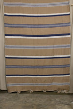 Load image into Gallery viewer, Moroccan Blanket (#SCS-81) - Small Cotton