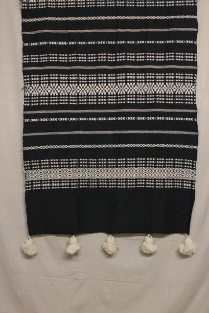 Moroccan Blanket (#SW3-33) - Small Cotton & Wool