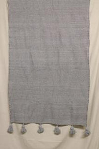 Moroccan Blanket (#SCS-75) Small Cotton