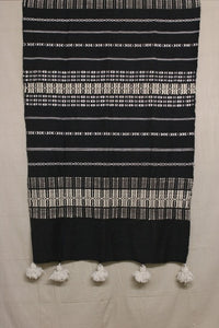 Moroccan Blanket (#SW3-12) - Small Cotton & Wool