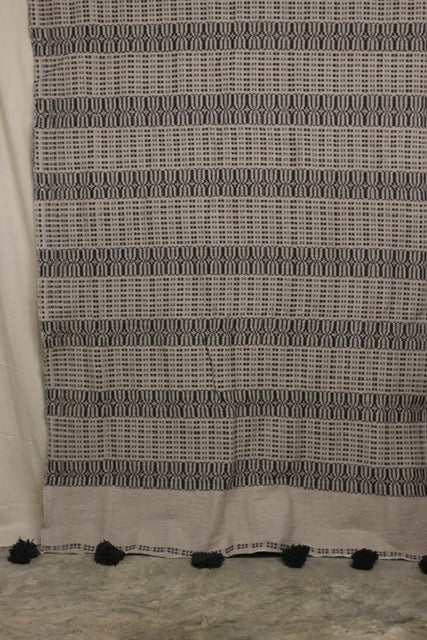 Moroccan Blanket (#LC2-53) - Large Cotton