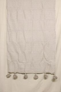 Moroccan Blanket (#SCS-79) - Small Cotton