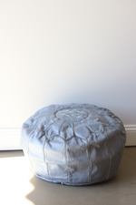 Load image into Gallery viewer, Authentic Moroccan Leather Pouf (other colors available)