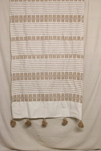 Moroccan Blanket (#SC2-43) - Small Cotton