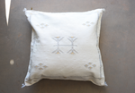Load image into Gallery viewer, Cactus Silk Pillow Cover - 24 x 24 - Linen - #10101