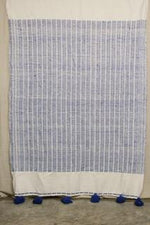 Load image into Gallery viewer, Moroccan Blanket (#LW1-2) - Large Cotton & Wool