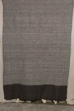 Load image into Gallery viewer, Moroccan Blanket (#LW1-37) - Large Cotton & Wool