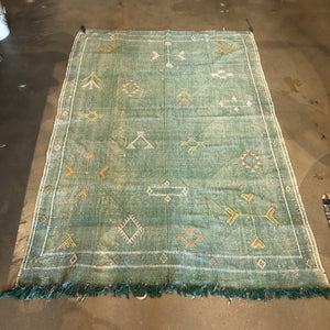 "Cactus Silk Rug - One-of-a-Kind - 089-01 - 4'10"" x 7'2"""