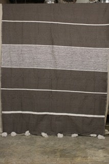 Moroccan Blanket (#LCS-45) - Large Cotton