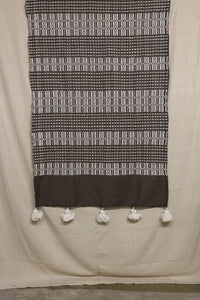 Moroccan Blanket (#SC2-49) - Small Cotton