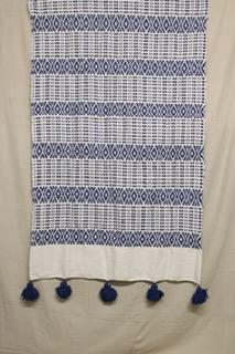 Moroccan Blanket (#SC2-67) - Small Cotton