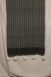 Moroccan Blanket (#SW1-60) - Small Cotton & Wool