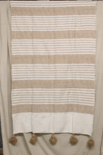 Load image into Gallery viewer, Moroccan Blanket (#SC1-72) - Small Cotton