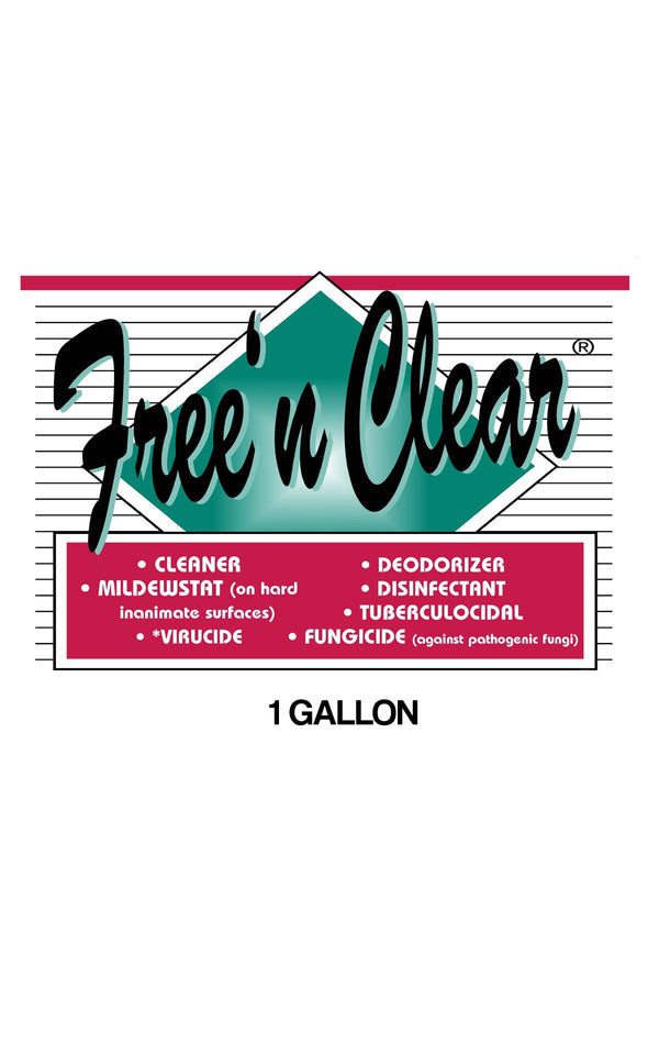 Diamond Free 'N Clear Disinfectant Spray- 1 gallon (4 pack)