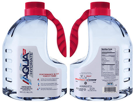 Aquahydrate Water 128 oz PET Pack of 4