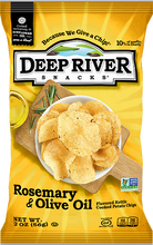 Load image into Gallery viewer, Deep River Snacks Rosemary Olive 2 oz Bag Pack of 24