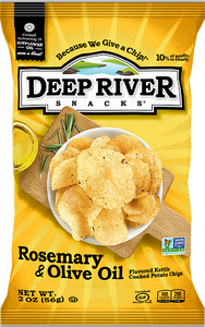Deep River Snacks Rosemary Olive 2 oz Bag Pack of 24