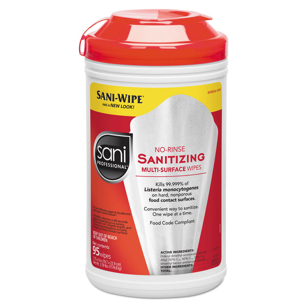 Sani Professional Sanitizing Wipes (95 wipes) - 6 Pack