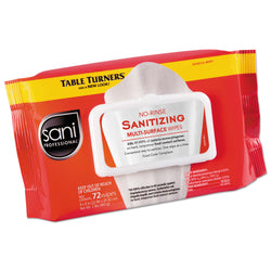 Sani Professional Sanitizing Wipes (72 wipes) - 12 Pack