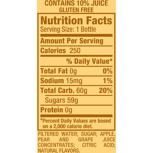 Snapple Fruit Punch 20 oz PET - Pack of 24