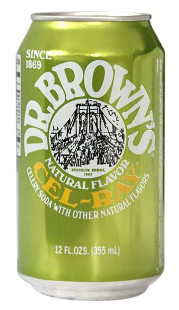 Dr. Brown's Cel-Ray 12 oz Can Pack of 24