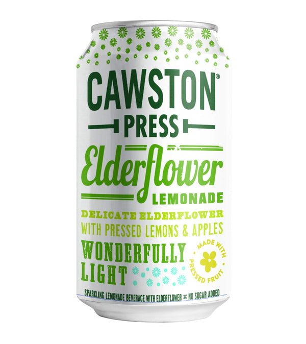 Cawston Press Elderflower Lemonade 11.15 oz Can Pack of 24