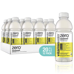 Vitamin Water Zero Squeezed Lemonade 20 oz PET Pack of 12