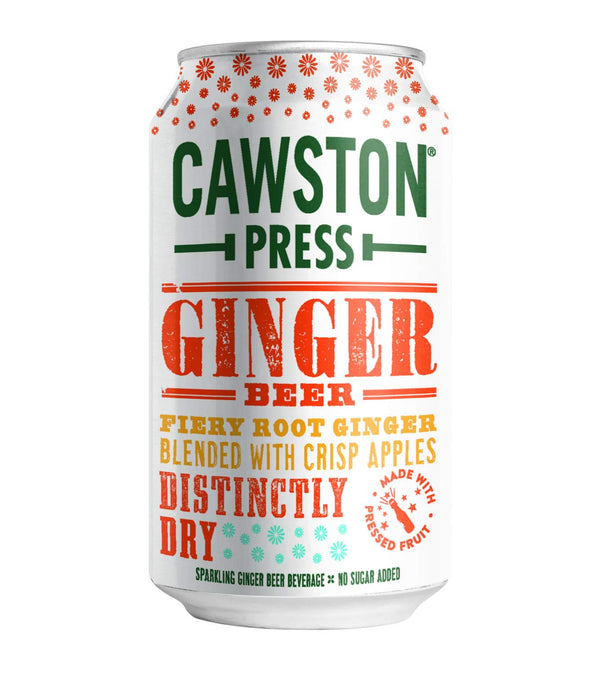 Cawston Press Ginger Beer 11.15 oz Can Pack of 24