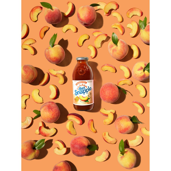 Snapple Diet Peach 16 oz PET - Pack of 24