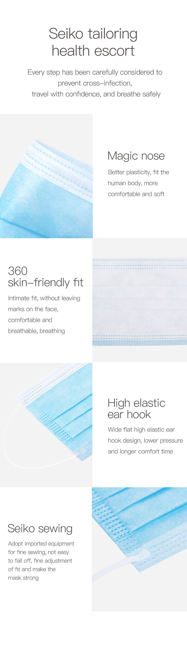 Disposable Face Mask - 250 PCS