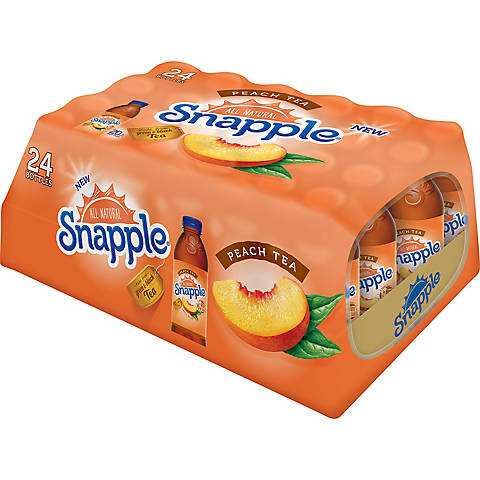 Snapple Peach 20 oz PET - Pack of 24