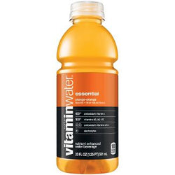 Vitamin Water Essential Orange 20 oz PET Pack of 12