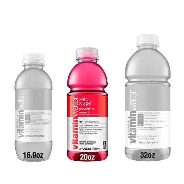 Vitamin Water Zero Power-C 20 oz PET Pack of 12