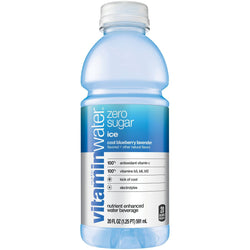 Vitamin Water Ice Cool Blue 20 oz PET Pack of 12