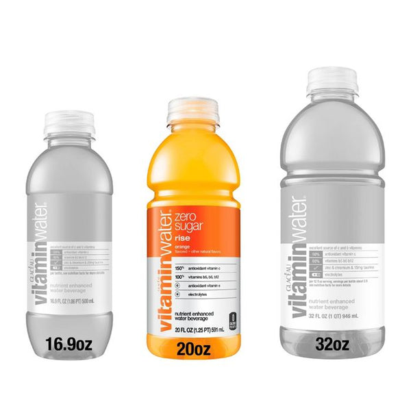 Vitamin Water Zero Rise Orange 20 oz PET Pack of 12