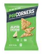 Popcorners Jalapeno Cheddar 1 oz Bag Pack of 40